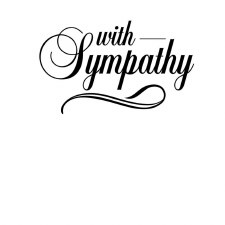 Darice Embossing Folder- Phrases- With Sympathy