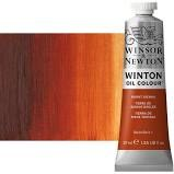 Winsor & Newton Oil Color, 37ml- Burnt Sienna
