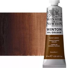Winsor & Newton Oil Color, 37ml- Burnt Umber