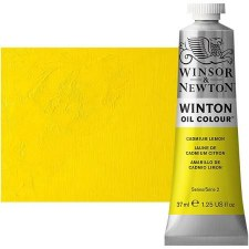 Windsor & Newton Oil Color, 37ml- Cadmium Lemon