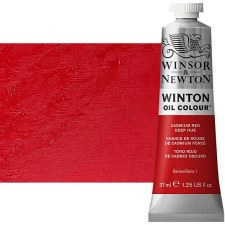 Windsor & Newton Oil Color, 37ml- Cadmium Red Deep Hue