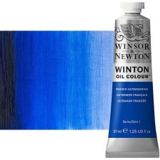 Winsor & Newton Oil Color, 37ml- French Ultramarine