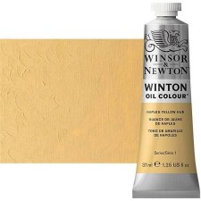 Winsor & Newton Oil Color, 37ml- Naples Yellow