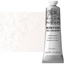 Winsor & Newton Oil Color, 37ml- Titanium White