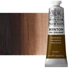 Winsor & Newton Oil Color, 37ml- Vandyke Brown
