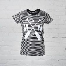 Women's Classic Black Stripe T