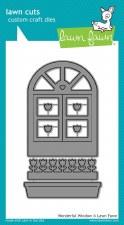 Lawn Fawn Craft Dies- Wonderful Window