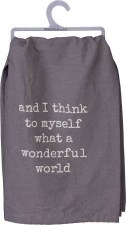 Dish Towel- Wonderful World