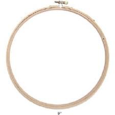 """Wood Embroidery Hoop- 9"""""""
