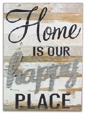 Pallet Decor- Home is Our Happy Place