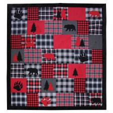Woodland Plaid Quilt Kit