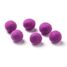 """Wool Bead 5/8""""- Violet"""