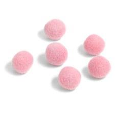 """Wool Bead 5/8""""- Pink"""
