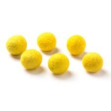 "Wool Bead 5/8""- Yellow"