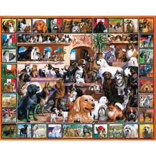 World of Dogs - 1000 piece puzzle