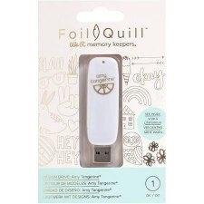 Foil Quill USB Art- Amy Tangerine