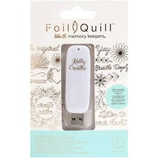 Foil Quill USB Art- Kelly Creates