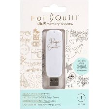 Foil Quill USB Art- Paige Evans