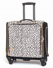 We R Memory Keepers Rolling 360 Tote- Rose Gold Dalmation