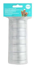 Storage Jars- Stackable, Medium 5pc