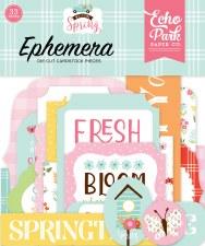 Welcome Spring Die Cuts- Ephemera