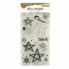 Vicki Boutin Winter Wishes Clear Stamp Set