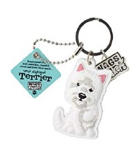Wags & Whiskers Dog Keychain- West Highland Terrier