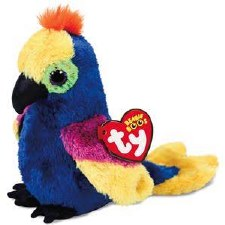 Ty Beanie Boos- Wynnie the Parrot
