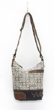 Myra Shoulder Bag- X Design