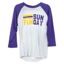 Sunday Funday Raglan- XL