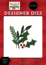Farmhouse Christmas Designer Dies- Christmas Greenery