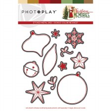 Christmas Memories Clear Stamp Dies- Elements