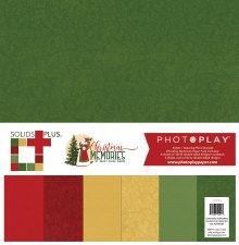 Christmas Memories 12x12 Solids Paper Pack