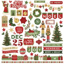 Christmas Memories 12x12 Sticker Sheet