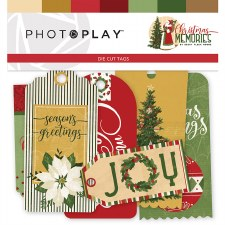Christmas Memories Ephemera Tags