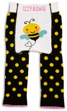 Baby Leggings, Bee- 6-12m