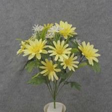 """Daisy Mixed Bush, 18.5""""- Yellow"""