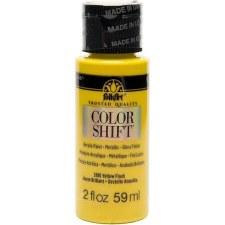 FolkArt Color Shift Metallic Acrylic Paint, 2oz- Yellow Flash
