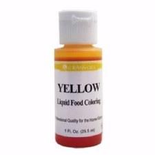 Food Coloring Liquid - Yellow
