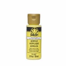 FolkArt 2 Oz. Acrylic Paint- Yellow Lemon