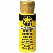 FolkArt 2 Oz. Acrylic Paint- Yellow Light