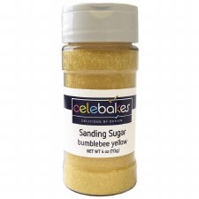 Sanding Sugar, 4oz- Yellow