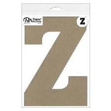 """8"""" Chipboard Letter- Z"""