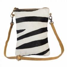 Myra Crossbody Bag- Zebra Queen