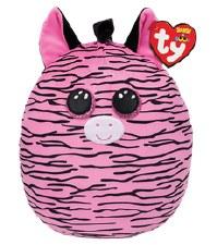 """Squish-A-Boo, 10""""- Zoey Zebra"""