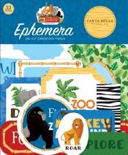 Zoo Adventure Die Cuts- Ephemera
