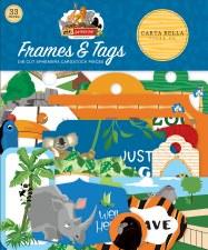 Zoo Adventure Die Cuts- Frames & Tags