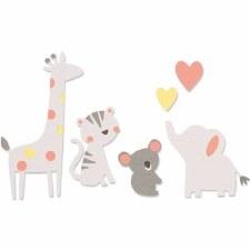 Sizzix Bigz Dies- Zoo Friends