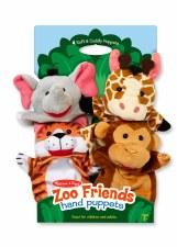 Melissa & Doug Hand Puppets- Zoo Friends