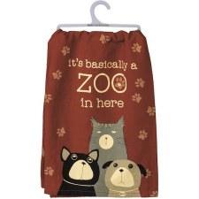 Dish Towel- Zoo in Here